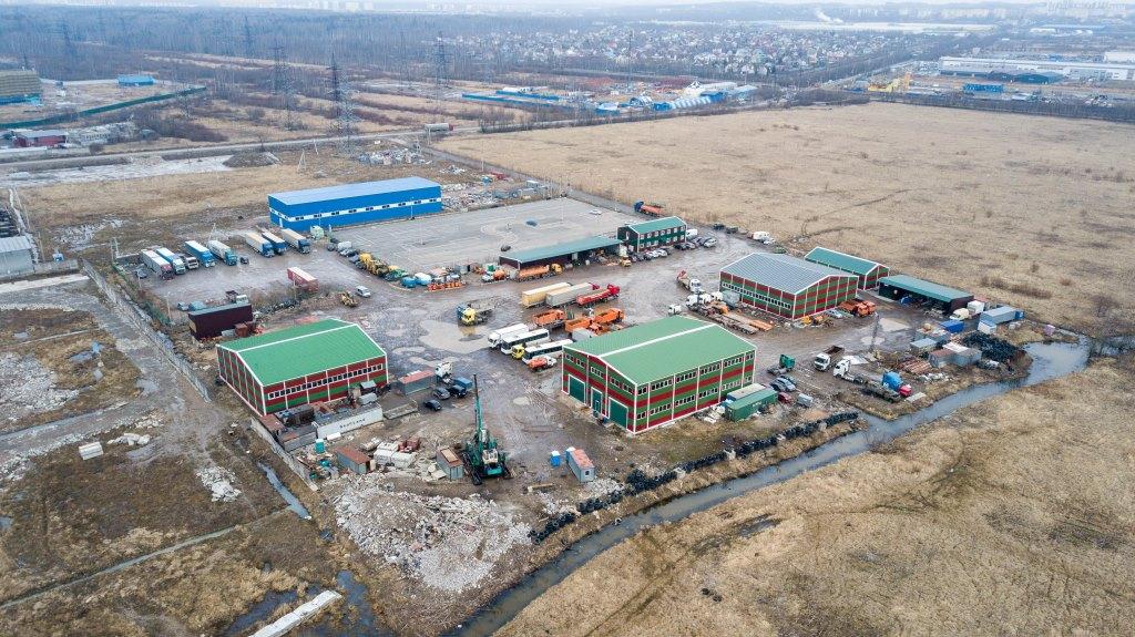 Автобаза, Складское помещение, участок 3Га д.Новосергиевка