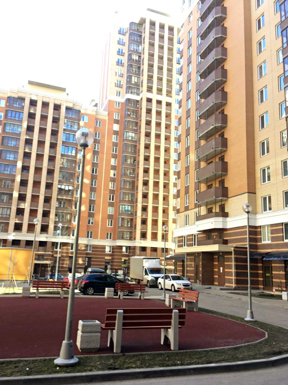 4-к квартира 125,6 м² в Кудрово, микрорайон Новый Оккервиль, ЖК