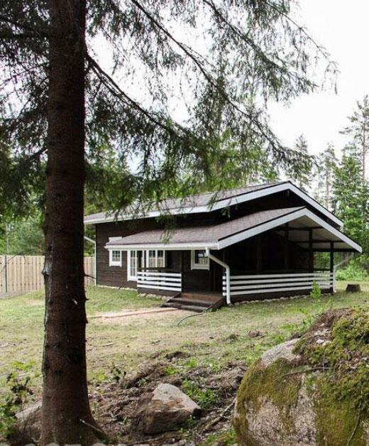 Дом и участок в Васкеловском заказнике