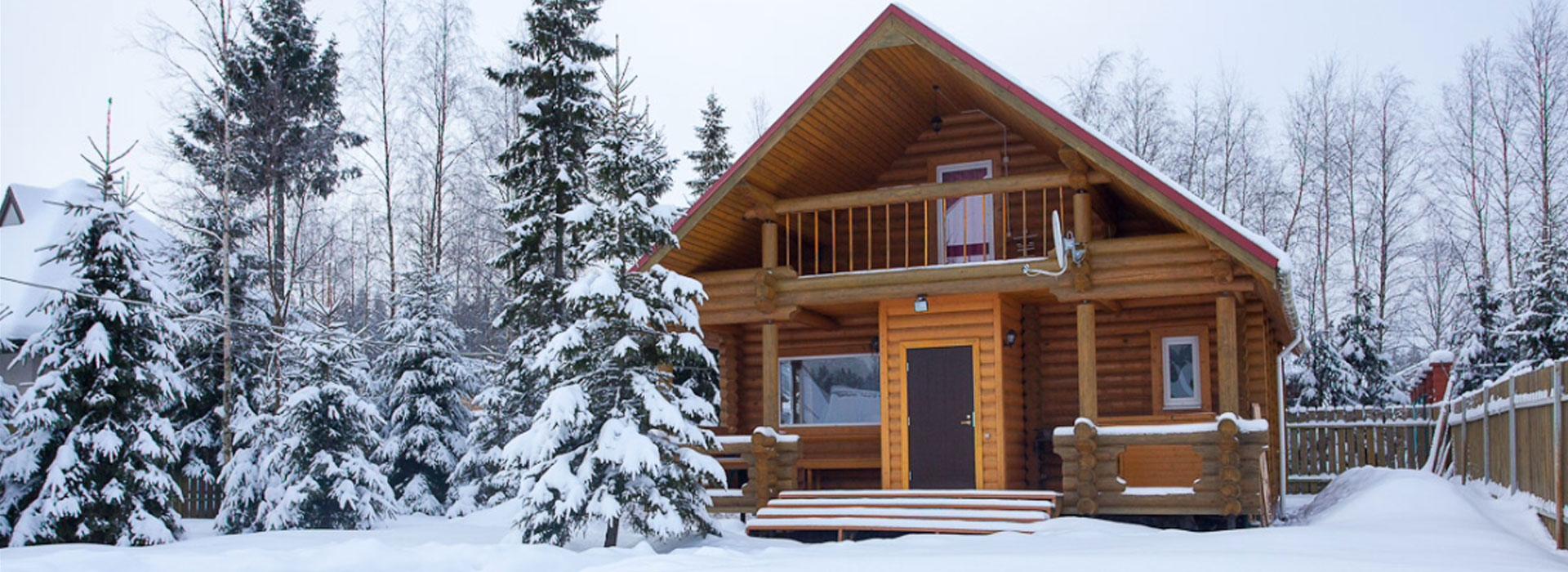 Строительство современных бревенчатых домов